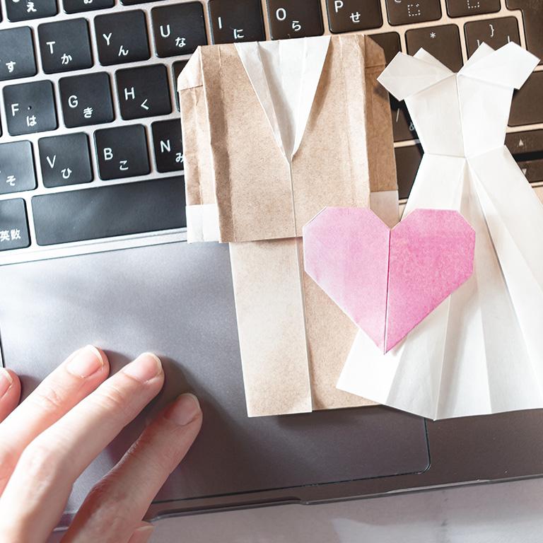 婚活の方法や仕事について